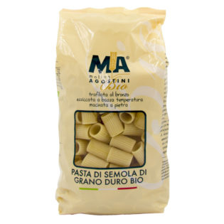 Mezze Maniche - Pasta di Grano Duro Biologica