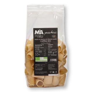 Paccheri - Pasta di grano duro Senatore Cappelli Akrux Biologica