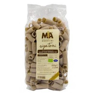 Rigatoni - Pasta di grano duro Integrale Biologica