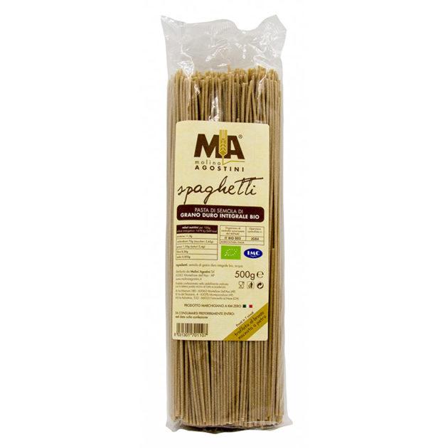 Spaghetti - Pasta di grano duro Integrale Biologica