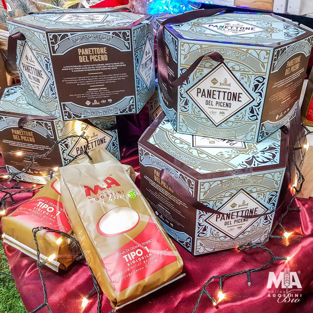 Il panettone del piceno: un dolce natalizio