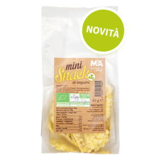 Mini Snack ai Legumi Biologici